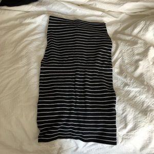 BDG Stretch Midi Pencil Skirt